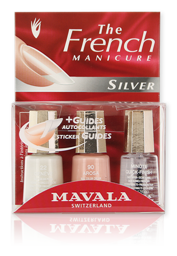Kit French Manicure Silver