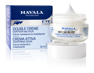 Moisturizing and revitalizing cream for eye contour.